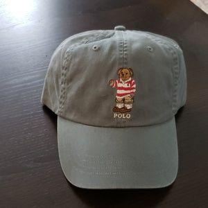 Polo Rugby Shirt Bear Canvas Baseball cap.